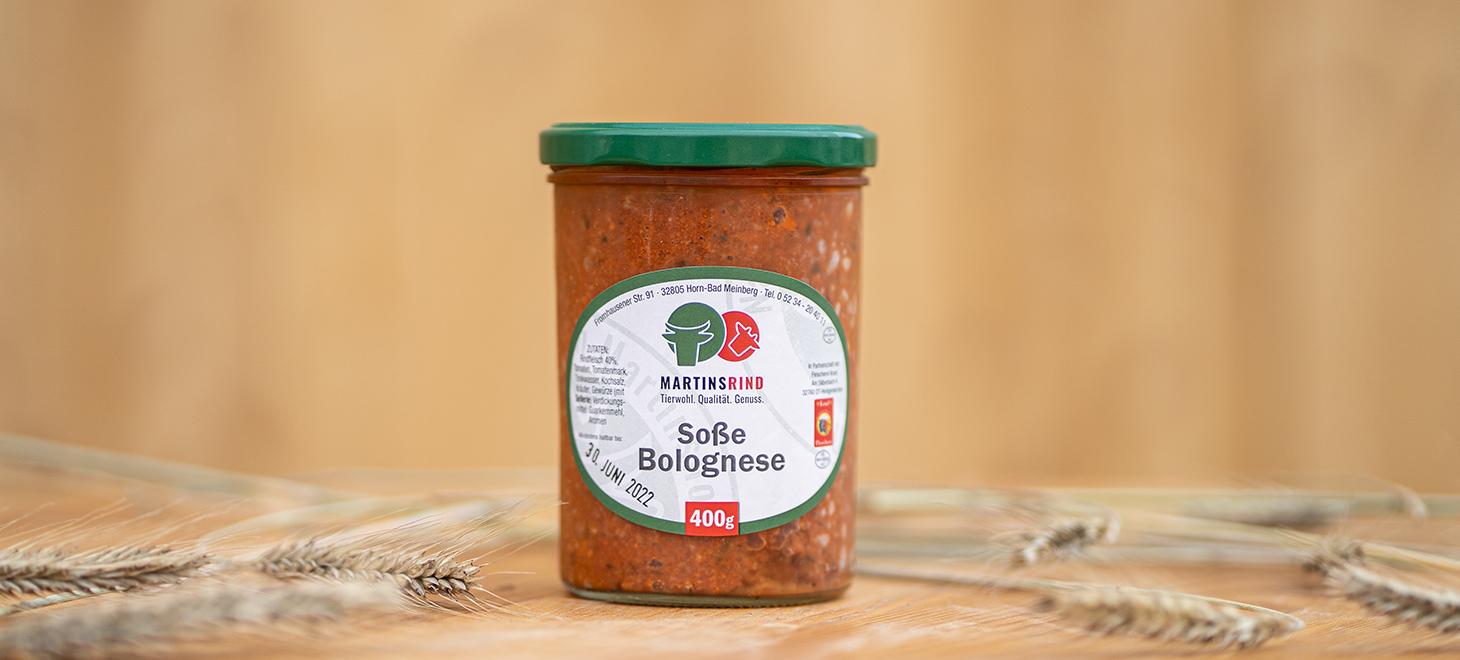 Soße Bolognese